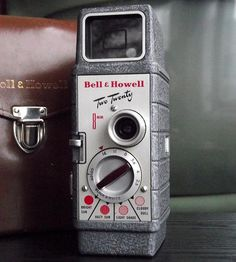 Vintage Bell & Howell Two-Twenty Camera with Leather Field Case by Juniper Home Vintage on Scoutmob Shoppe