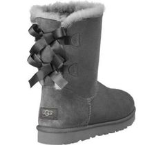 Bailey Bow from UGG Australia. Shop more products from UGG Australia on Wanelo. Ugg Snow Boots, Winter Boots, Gyaru, Soft Grunge, Uggs With Bows, Bow Uggs, Ugg Classic Tall, Bow Boots, Knit Boots