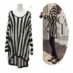 US$10.90  Long Sleeve Knitting Shirt Dresses
