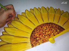 Butterfly Flowers, Girls Night, Hand Fan, Plastic Cutting Board, Dream Wedding, Crafts, Diy, Paint, Hand Fans
