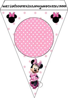 Inspired in Minnie Mouse: Free Printables. Right click and save as Hello Kitty Birthday, Mickey Mouse Birthday, Mickey E Minnie Mouse, Baby Mouse, Mickey And Friends, Mouse Parties, 1st Birthday Parties, Scrapbooking, Frames