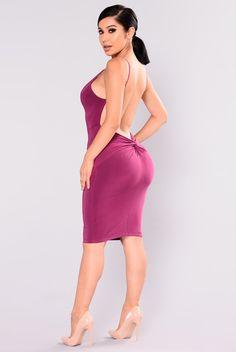 Alexandria Dress - Magenta