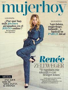 Renée Zellweger, mucho más que cirugía y Bridget Jones en portada de Mujerhoy