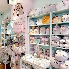 Just 2 days until we open, and the boutique is ready! 🎉🎉 We've had so much fun getting it all set up and stacked sky high with Pusheen Love, Pusheen Cat, Pusheen Stuff, Pusheen Birthday, Cute Fat Cats, Polaroid Wall, Kawaii Room, Stationery Craft, Pink Bedrooms