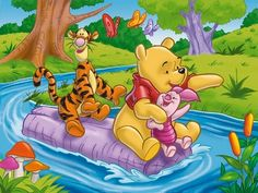 Wallpaper of Winnie the Pooh Wallpaper for fans of Winnie the Pooh. Winnie the Pooh wallpaper.
