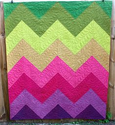 lovely chevron quilt by danielle wilkes of nacho mamas quilts what a great name