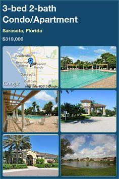 3-bed 2-bath Condo in Sarasota, Florida ►$319,000 #PropertyForSale #RealEstate #Florida http://florida-magic.com/properties/620-condo-for-sale-in-sarasota-florida-with-3-bedroom-2-bathroom