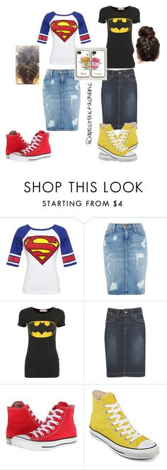"""""""Apostolic Fashions #355"""" by apostolicfashions ❤ liked on Polyvore featuring Bioworld, Current/Elliott, kew.159, Samsung and Converse"""