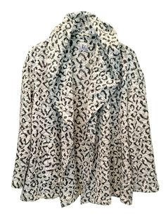 Black and White Jacket, Plus Size, Leopard Cardigan With a Hood, Leopard Jacket, Designers Hoodie, Winter Cardigan, Knit Cardigan by tamarziv on Etsy https://www.etsy.com/il-en/listing/168263377/black-and-white-jacket-plus-size-leopard