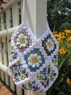 Crochet Handbag Tote  Perfect for Spring or for any by CROriginals, $62.00