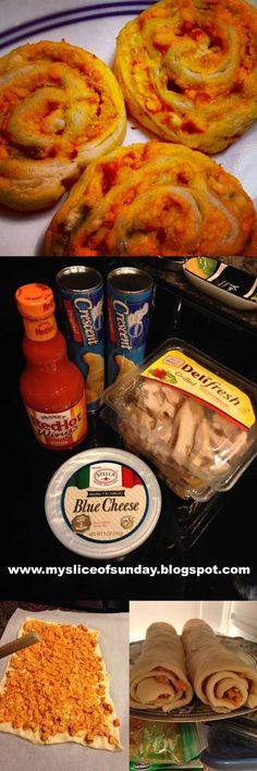 Buffalo Chicken Bites ~ My Slice of Sunday