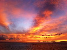 Fire in the Sky, Waipuilani Beach, Kihei, Maui
