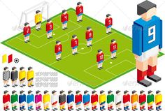 Soccer Tactical Kit - Sports/Activity Conceptual