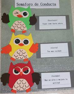 Semaforo de conducta - para niños de primaria