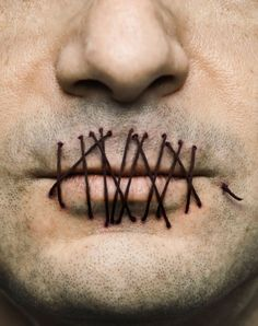 Sewn Up Mouth 42