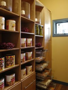 Pantry off the kitchen.