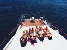 #summer #junk #boat #swim #bikini #girls #fun #fashion #photography #photo #instagram #insta #pinterest #swimming #sun #girl #summerloving #suntan #tanned #sleepy  #relaxation #summerinthesun