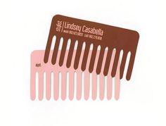 Hair stylist business card #businesscards