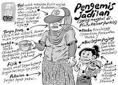 Mice Cartoon, Kompas, 22 September 2013: Pengemis