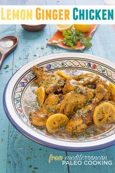 Paleo Lemon Ginger Chicken Tajine Recipe – Plus Cookbook Giveaway - Hollywood Homestead