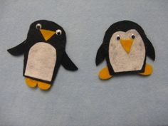 Read Rabbit Read: Flannel Friday: Penguin Finger Puppets