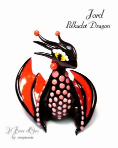 Jord, Polkadot dragon by rosepeonie on deviantART