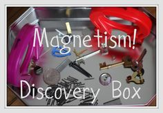 Made this as a Christmas gift for our son...he loves it! The Imagination Tree: Discovery Box 12: Magnetism!