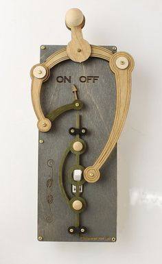 Overly complex light switch covers by green tree jewelry are awesome!