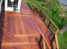 This Beautiful Deck Is Redwood The California Redwood