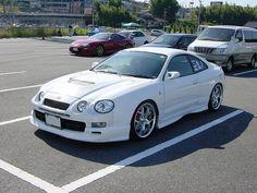 White Toyota Celica, 6th gen