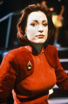 "Nana Vistor-Major Kira Nerys-""Star Trek Deep Space Nine"" Star Trek Enterprise, Star Trek Voyager, Nana Visitor, Akira, Star Trek Characters, Female Characters, Star Trek Show, Star Wars, Fiction Movies"