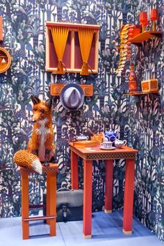 The Fox's Den by Zim&Zou for Hermès - News - Frameweb #art #design #hermes