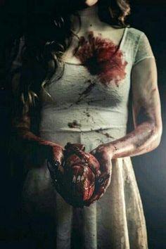 Take my still beating heart. #Heart #Blood #Serial #Killer #Murder #Creepy