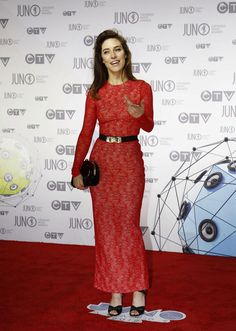 Feist on the Juno red Carpet @NationalPost