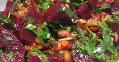 BEET ROOT SALAD WITH DILL My mom used to boil beet roots during the winters when I was a child. Each tim...