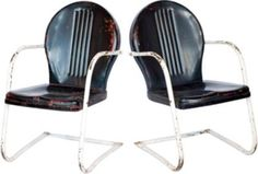 Vintage garden Chairs, My Grandma Lila Thompson had these & one still in our Family:)