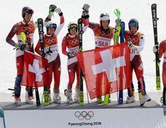 Schweiz #GOLD Österreich #SILBER Norwegen #BRONZE