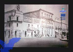Calle Moctezuma esquina con 5 de Mayo.(fototeca del Archivo General Municipal)