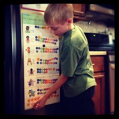 My Growing Up Chart: A behavior chart for children with ADHD