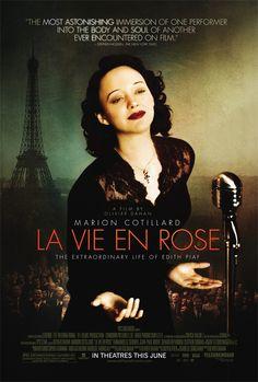 Un film réalisé en 2007 par Olivier Dahan. Avec Marion Cotillard, Sylvie Testud, Pascal Greggory, Emmanuelle Seigner. La vie d'Edith Piaf