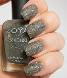 London - 3 coats - no top coat - from the Pixi Dust collection Jan 2013