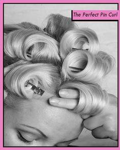 Risultati immagini per pin curls