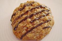Haferflocken – Walnuss – Kekse, ein schönes Rezept aus der Kategorie Kekse & Pl… Oatmeal – walnut biscuits, a nice recipe from the category biscuits & cookies. Protein Desserts, Cookie Desserts, No Bake Desserts, Baking Desserts, Cupcake Recipes, Snack Recipes, Dessert Recipes, Biscuit Cookies, Cake Cookies