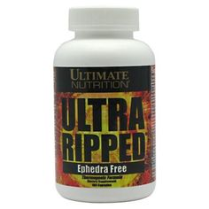I'm learning all about Ultimate Nutrition Ultra Ripped at @Influenster!