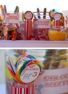 Big Top Circus Carnival Party! Birthday Circus Theme | Kara's Party Ideas