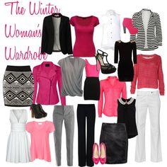 """""""The Winter Woman's Wardrobe"""" by l-edwards on Polyvore"""