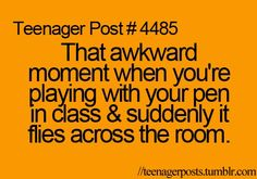 Hahaha! All. The. Time. But being homeschooled my main problem is having to get out of bed to go get it