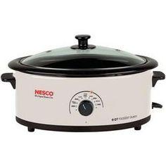 NESCO 4816-14-30 6-Quart Nonstick Roaster Oven (Ivory) R810-NES48161430