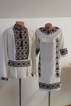 embroidery Ukraine, from Iryna with love Traditional Fashion, Traditional Outfits, Ukrainian Dress, Ethno Style, Look Fashion, Fashion Design, Folk Embroidery, Boho Diy, Dance Outfits