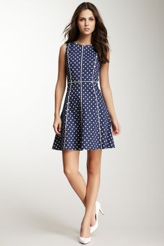 Eva Franco Haven Polkadot Dress : Sweet